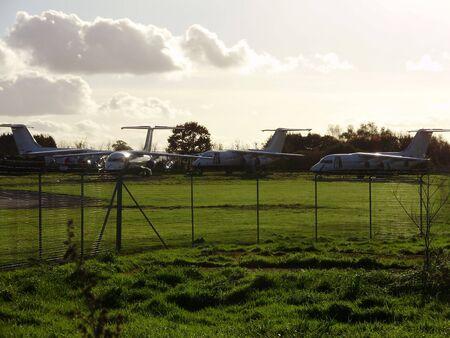 aircraft graveyard 2 Stock Photo