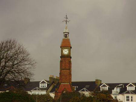 town clock Stock Photo