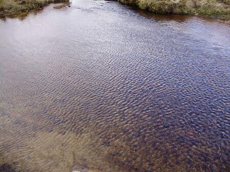crestas de agua de colores Foto de archivo