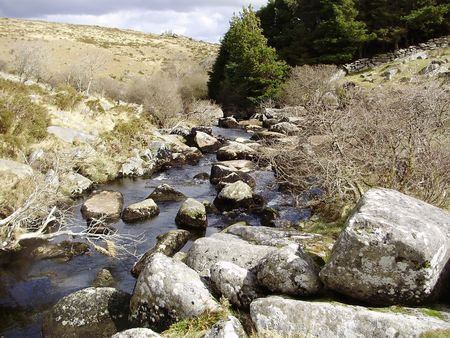 scenic moorland river