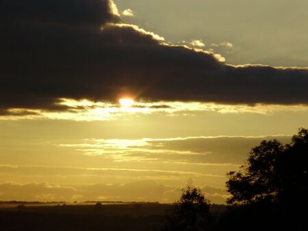 emerging sun