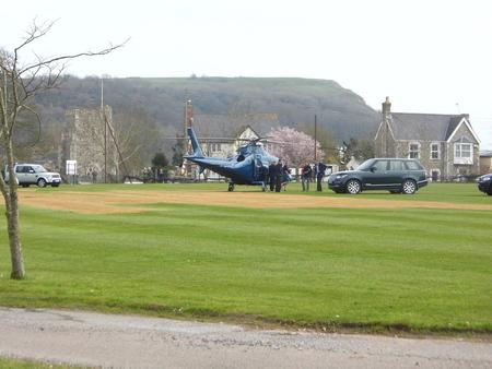HRH Princess Anne,arriving to open the new jurassic centre in Seaton,Devon,UK