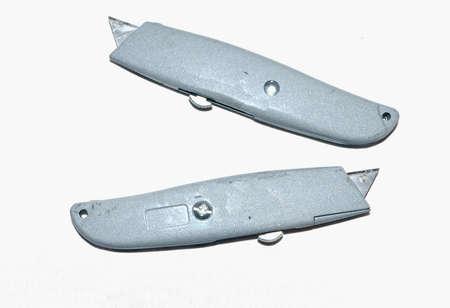 Gray steel box cutters