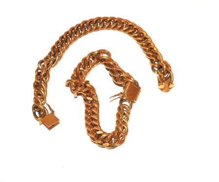 gold bracelets Stok Fotoğraf