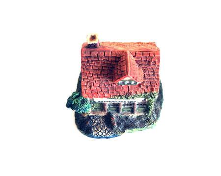 ceramic english cottage Zdjęcie Seryjne