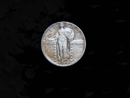 USA stending liberty quarter 1929 front