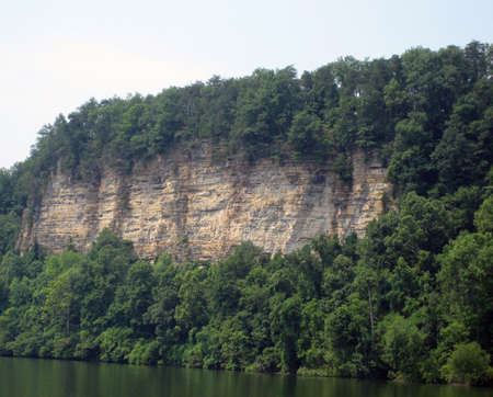river bluff cliff