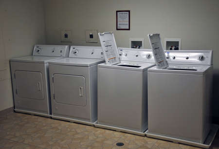 communal: washer and dryer appliances
