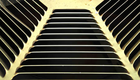 slits: air conditioning vent Stock Photo