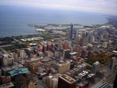 city skyline and coast line       photo
