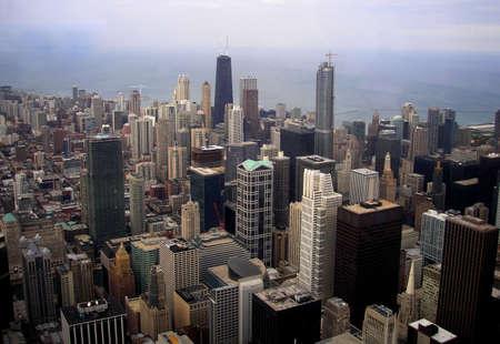 chicago skyline         photo