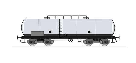 cisterna: Cisterna de vagones de ferrocarril