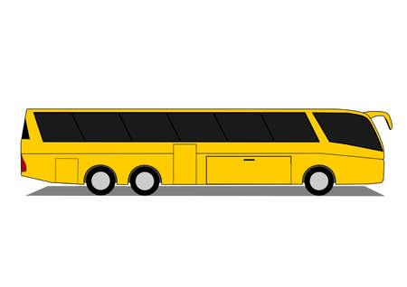motor coach: Coach Illustration