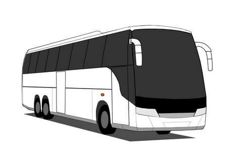 transit: Coach Illustration