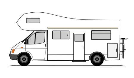 campsite: Caravan