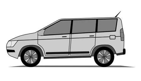 Offroad car Stock Vector - 15428474