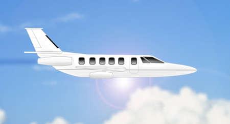 side light: Light airplane