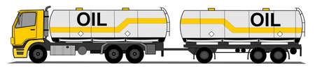 Reboque tanque Ilustração