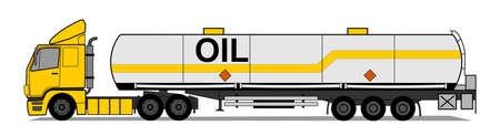 Caminh�o-tanque Ilustração