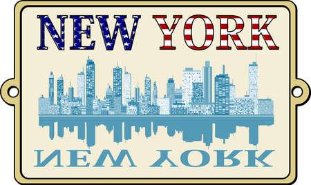 Rótulo de Nova York