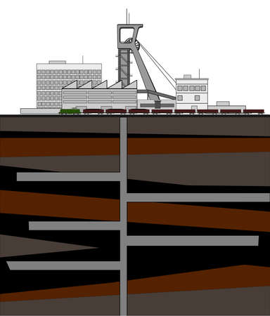coal mine: A illustration of mne complex