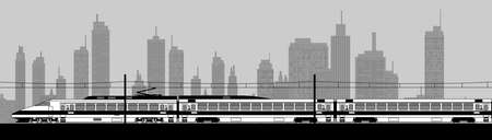 High speed train Stock Vector - 22449552