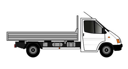 flatbed truck: flatbed truck