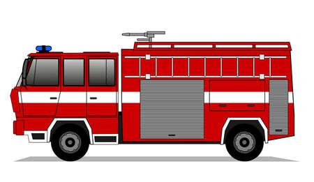 fire truck: Fire truck
