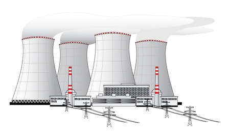 global cooling: Nuclear power plant
