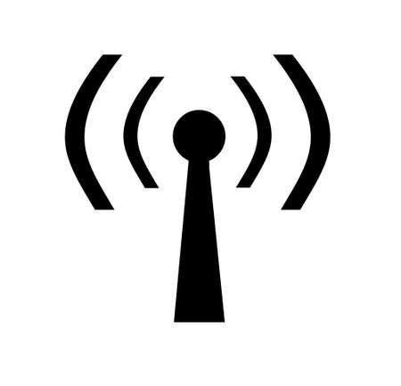 portrait of wireless 802.11 hot spot sign