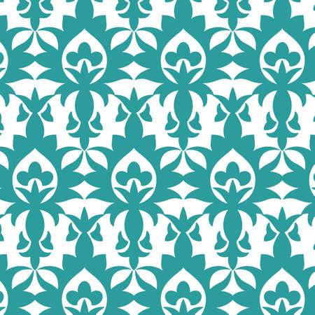 Naadloze ornament vintage patroon