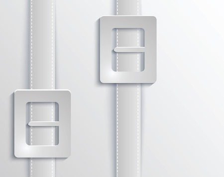 Vector belts with buckles background for cover Vector