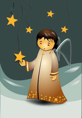 hopes: angel star Illustration