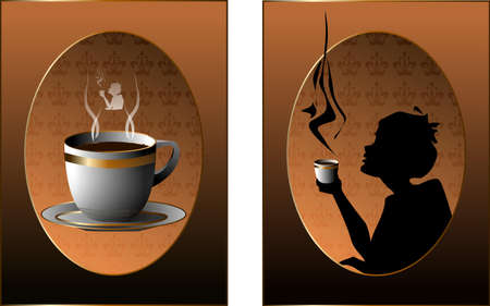 coffee Stock Vector - 8850222