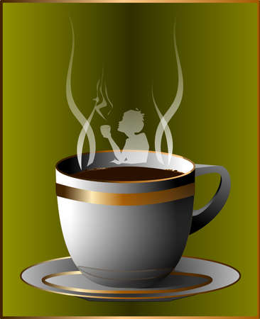 woman drinking coffee: coffee