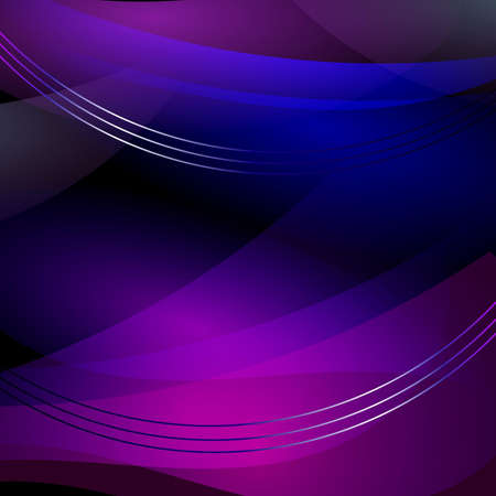 abstract background with blurred magic neon light curved lines photo