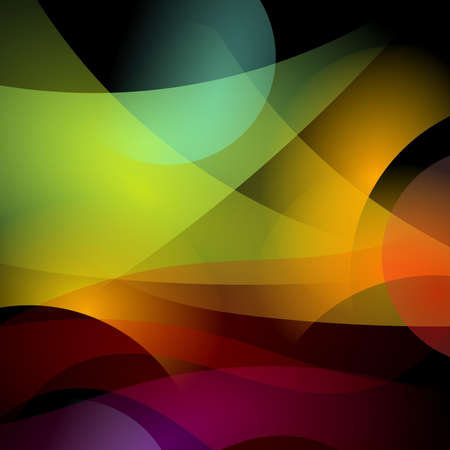 abstract background with blurred magic neon light curved lines Stock Photo - 14531546