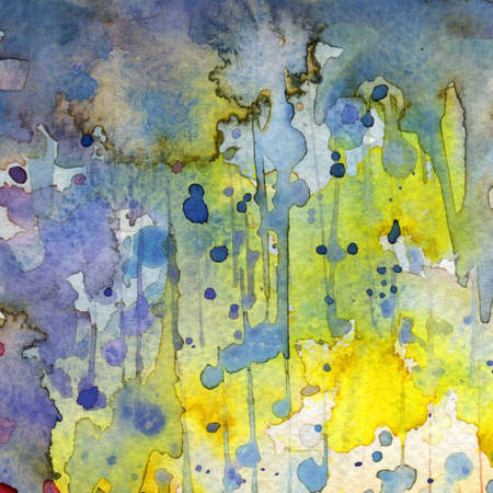 Artistic background watercolor on watercolor paper Stock Photo - 14716173