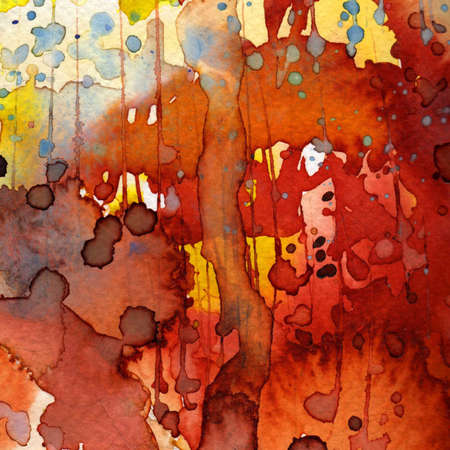 Artistic background watercolor on watercolor paper photo
