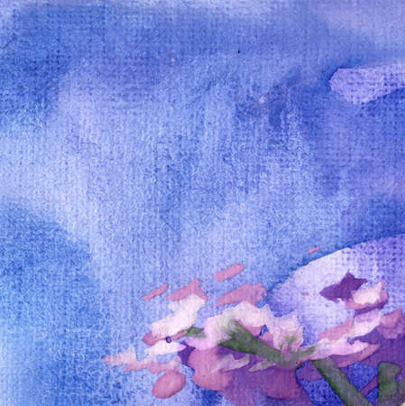 cadet blue: Interestingly, orygnalne and modern watercolor background with paint stains.