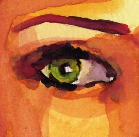 avantgarde:  The illustrations pretty watercolor on watercolor block