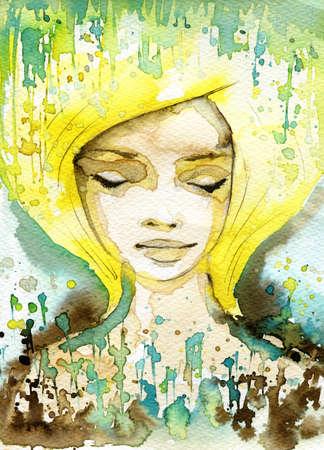Resultado de imagen para cara femenina soñando pinturas