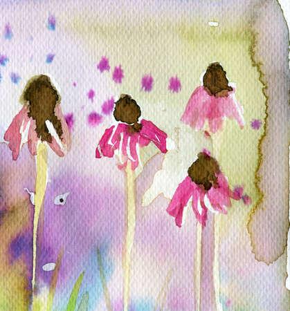 brisk: pink flowers