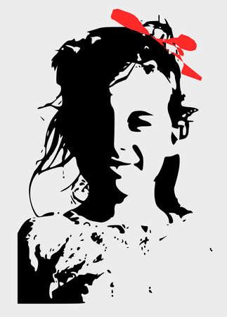 arte abstracto: niños Poter