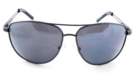 aviator sunglasses isolated on a white