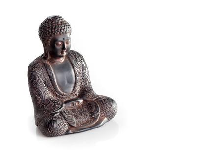 wisdom buddha isolated on a white background