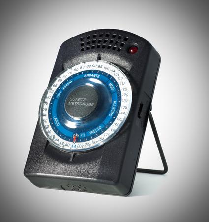 metronome: metronome isolated on a white background Stock Photo