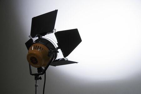photo studio: Floodlight at a film studio