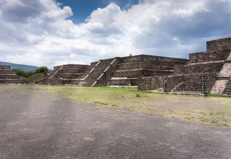 Ruins of a building, Teotihuacan, Mexico City, Mexico photo