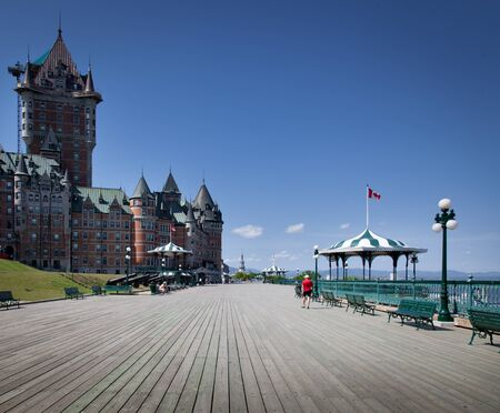 Chateau Frontenac Hotel in Quebec City, Quebec, Canada